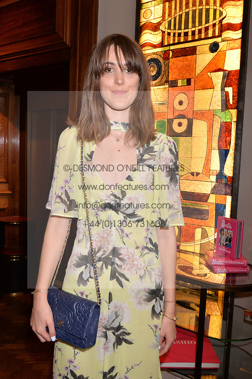 Chloe Herbert at The Art of @barbiestyle Book Launch held at Maison Assouline, Piccadilly, London on 15 June 2017.Photo by Dominic O'Neill/SilverHub 0203 174 1069/ 07711972644 - Editors@silverhubmedia.com