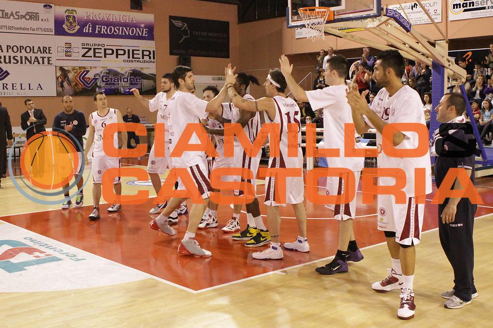 DESCRIZIONE : Ferentino LNP Lega Nazionale Pallacanestro DNA playoff 2011-12 FMC Ferentino Paffoni Omegna<br /> GIOCATORE : FMC Ferentino<br /> CATEGORIA : pre game<br /> SQUADRA : FMC Ferentino <br /> EVENTO : LNP Lega Nazionale Pallacanestro DNA playoff 2011-12 <br /> GARA : FMC Ferentino Paffoni Omegna<br /> DATA : 10/05/2012<br /> SPORT : Pallacanestro<br /> AUTORE : Agenzia Ciamillo-Castoria/M.Simoni<br /> Galleria : LNP  2011-2012<br /> Fotonotizia :Ferentino LNP Lega Nazionale Pallacanestro DNA playoff 2011-12 FMC Ferentino Paffoni Omegna<br /> Predefinita :