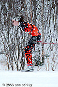 Girls Classic Ski Race at MN State HS Nordic Ski Race.