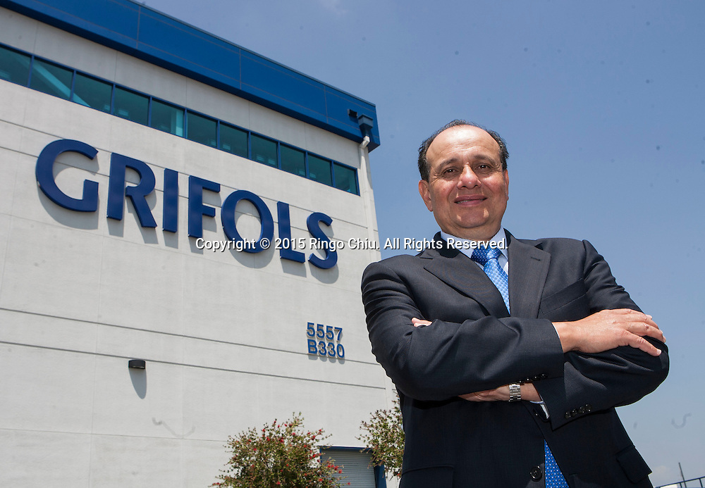 Willie Zuniga, President of Grifols USA.<br /> (Photo by Ringo Chiu/PHOTOFORMULA.com)