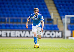St Johnstone's Blair Alston. St Johnstone 3 v 0 Falkirk, Group B, Betfred Cup, played 23/7/2016 at St Johnstone's home ground, McDiarmid Park.