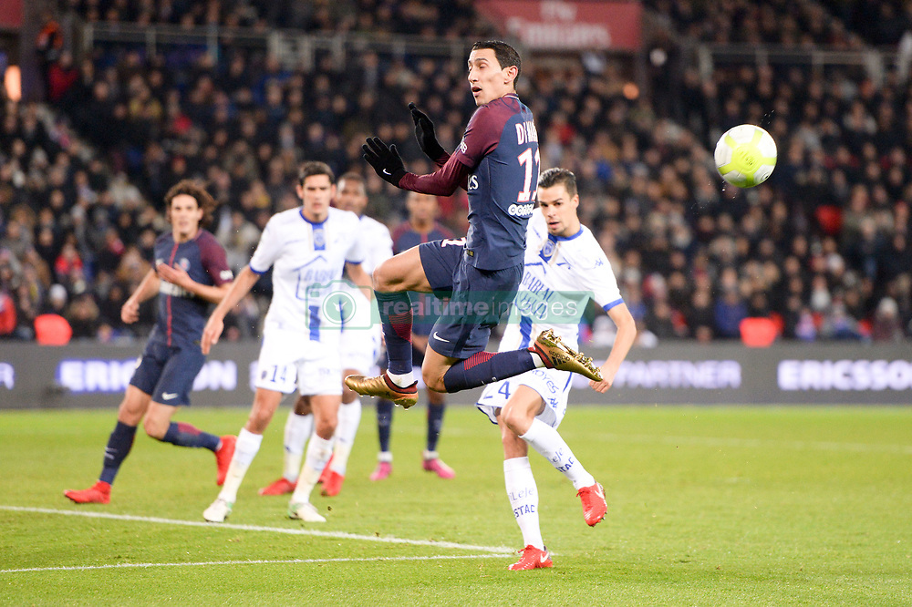 November 29, 2017 - Paris, France - 11 ANGEL DI MARIA  (Credit Image: © Panoramic via ZUMA Press)