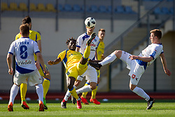 Shamar Amaro Nicholson of NK Domzale during football match between NK Domzale and NK Celje in Round #20 of Prva liga Telekom Slovenije 2017/18, on April 18, 2018 in Sports Park Domzale, Domzale, Slovenia. Photo by Urban Urbanc / Sportida