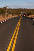 Brasilia De Minas_MG, Brasil...Rodovia MG 202 em Brasilia de Minas, Minas Gerais...The highway MG 202 em Brasilia de Minas, Minas Gerais...Foto: MARCUS DESIMONI / NITRO