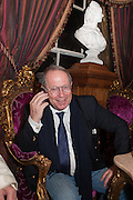 BARON MARC BURCA, Eva Harold birthday party. Ballroom, Beach Blanket Babylon. Notting Hill, London. 19 November 2012.