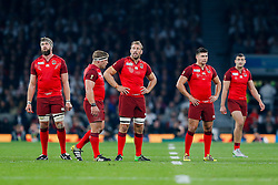 England Flanker Chris Robshaw (capt) looks on - Mandatory byline: Rogan Thomson/JMP - 07966 386802 - 18/09/2015 - RUGBY UNION - Twickenham Stadium - London, England - England v Fiji - Rugby World Cup 2015 Pool A.