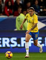 International Women's Friendly Matchs 2018 / <br /> France v Brazil 3-1 ( Allianz Riviera Stadium - Nice,France ) - <br /> Darlene Reguera of Brazil