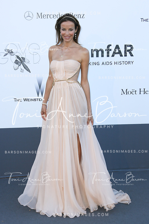 CAP D'ANTIBES, FRANCE - MAY 23:  Carolina Parsons  arrives at amfAR's 20th Annual Cinema Against AIDS at Hotel du Cap-Eden-Roc on May 23, 2013 in Cap d'Antibes, France.  (Photo by Tony Barson/FilmMagic,)