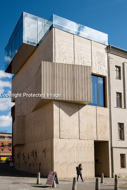 Tchoban Foundation;  Museum for Architectural Drawing in Prenzlauer Berg Berlin Germany