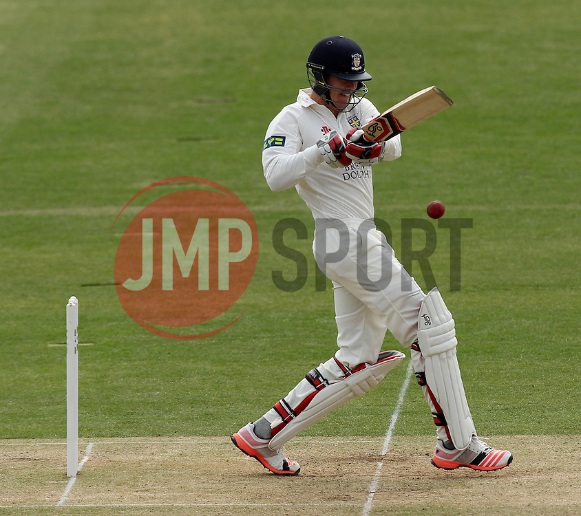 Durham's Keaton Jennings - Photo mandatory by-line: Robbie Stephenson/JMP - Mobile: 07966 386802 - 04/05/2015 - SPORT - Football - London - Lords  - Middlesex CCC v Durham CCC - County Championship Division One