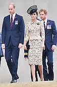 Battle of The Somme Royals attend