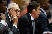 DALLAS, TX - JANUARY 6:  Head coach Larry Brown of the SMU Mustangs looks on as his team plays against the Tulsa Golden Hurricane on January 6, 2013 at Moody Coliseum in Dallas, Texas.  (Photo by Cooper Neill/Getty Images) *** Local Caption *** Larry Brown