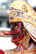 A man wearing the mask of a Tengu -- a supernatural figure from Japanese folklore and a Shinto god -- takes part in the Kanamara Festival, better known as the Penis Festival, in Kawasaki, Japan. Kanamara means metal phallus, so named after a story dating back hundreds of years in which a local blacksmith made an iron phallus to protect a girl who was thought to be curse. Today, the festival participants are largely prostitutes STDs.