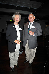 SIR JOHN & LADY CHAPPLE at the launch of the Imperial War Museum's 70th anniversary commemorating the outbreak of World War 11 held at the Cabinet War Rooms, Whitehall, London on 2nd September 2009.