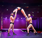 Barbu <br /> by Cirque Alfonse <br /> at The London Wonderground, Southbank, London, Great Britain <br /> press photocall <br /> 17th June 2016 <br /> <br /> <br /> <br /> Antoine Carabinier-L&eacute;pine<br /> ACROBAT<br /> <br /> <br /> Francis Roberge<br /> ACROBAT<br /> <br /> <br /> <br /> Jonathan Casaubon<br /> ACROBAT<br /> <br /> Gen Gauthier<br /> ACROBAT <br /> <br /> <br /> Gen Morin<br /> ACROBAT<br /> <br /> <br /> Jean-Phillipe Cuerrier<br /> ACROBAT<br /> <br /> <br /> Lukas Jolly<br /> MENTALIST<br /> <br /> <br /> <br /> <br /> <br /> <br /> Photograph by Elliott Franks <br /> Image licensed to Elliott Franks Photography Services