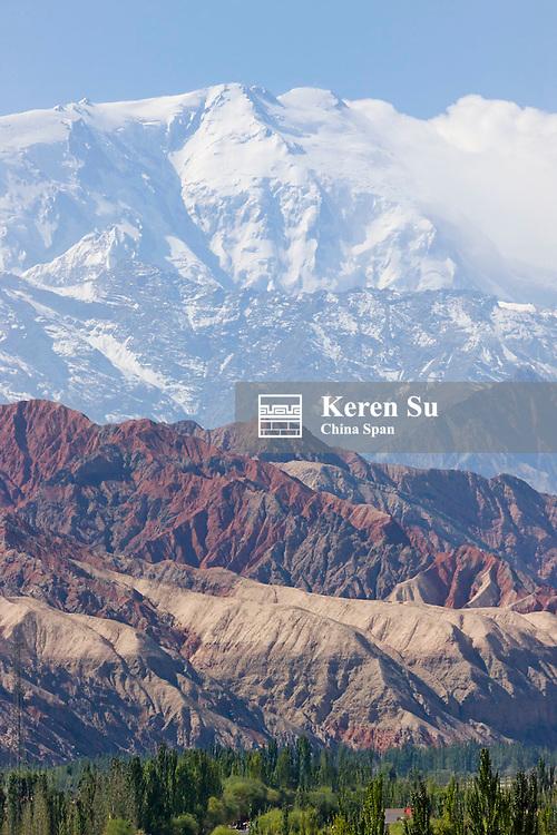 Mt. Kunlun on Pamir Plateau, Xinjiang, China
