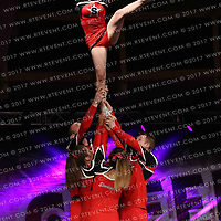 2008_Starlights  Senior Coed Level 3 Stunt Group