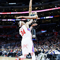 16 December 2015:  during the Los Angeles Clippers 103-90 victory over the Milwaukee Bucks, at the Staples Center, Los Angeles, California, USA.