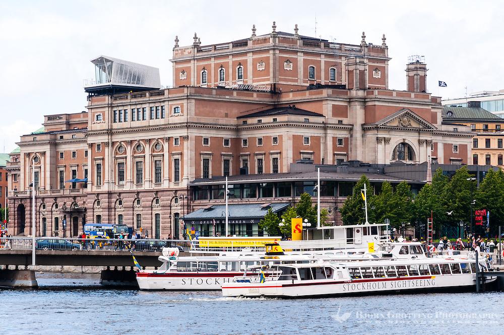 Sweden, Stockholm. Royal Swedish Opera.