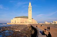 Maroc, Casablanca, Mosquée Hassan II // Hassan 2 Mosque, Casablanca, Morocco