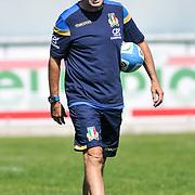Calvisano 24/05/2018 <br /> Allenamento nazionale italiana di rugby<br /> Wayne Smith