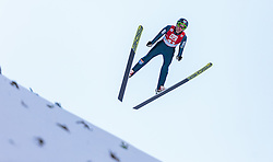 20.12.2015, Nordische Arena, Ramsau, AUT, FIS Weltcup Nordische Kombination, Skisprung, im Bild Jan Schmid (NOR) // Jan Schmid of Norway during Skijumping Qualification of FIS Nordic Combined World Cup, at the Nordic Arena in Ramsau, Austria on 2015/12/20. EXPA Pictures © 2015, PhotoCredit: EXPA/ JFK