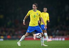 Brazil v Uruguay - 17 Nov 2018