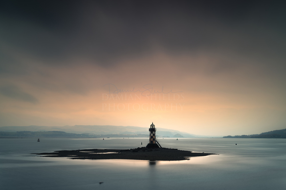The 'Perch' lighthouse, Port Glasgow, Inverclyde.