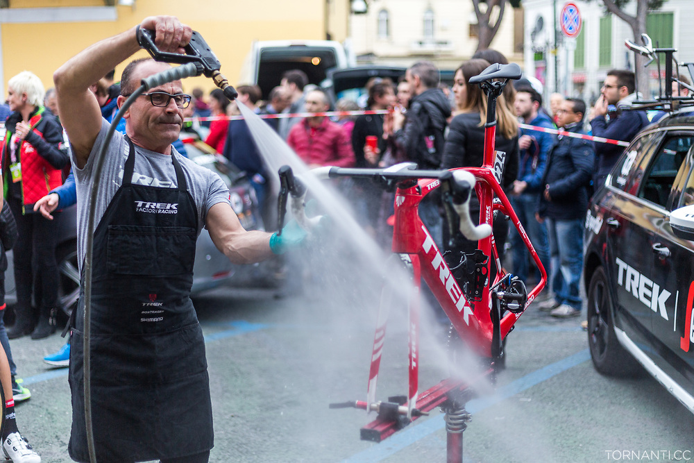 108th Milano - Sanremo (18th March 2017, 291 km, WT) / Post race bike cleaning