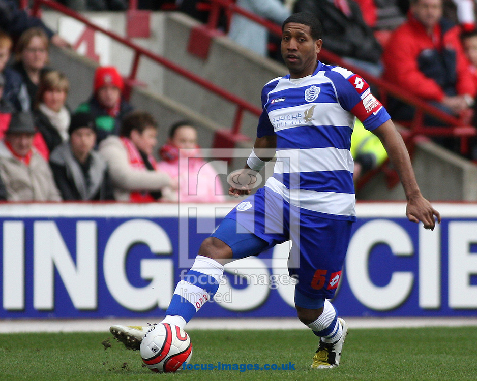 Barnsley - Saturday 28th February 2009 : Mikele Leigertwood of Queen's Park Rangers in action during the Coca Cola Championship match at Oakwell, Barnsley. (Pic by Steven Price/Focus Images)