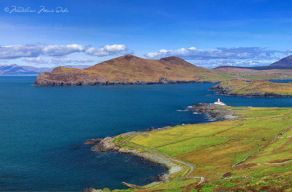 Valentia Island with Lighthouse, Ring of Kerry, Southwest Kerry, Ireland / vl042_2