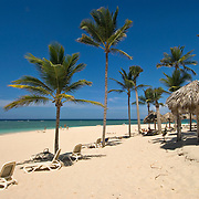Beach scene in Punta Cana