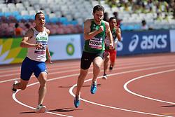 17/07/2017 : Paul Keogan (IRL), Sofiane Hamdi (ALG), T37, Men's 200m, at the 2017 World Para Athletics Championships, Olympic Stadium, London, United Kingdom