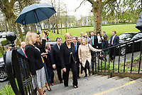 05/04/2017 Repro free: <br /> A visit of  Her Excellency Mrs. Kolinda Grabar-Kitarović President of the Republic of Croatia to NUI Galway and her husband  . <br />  . Photo:Andrew Downes, xposure