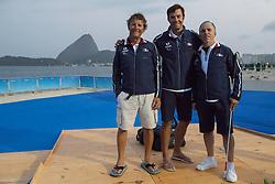 Equipe De France, SONAR, Sailing, Voile, FRA à Rio 2016 Paralympic Games, Brazil