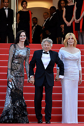 "70th Cannes Film Festival, red carpet ""Based On A True Story"", Roman Polanski, Eva Green, Emmanuelle Seigner. 27 May 2017 Pictured: Eva Green, Roman Polasky, Roman Polanski, Eva Green. Photo credit: KILPIN / MEGA TheMegaAgency.com +1 888 505 6342"