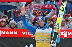 23.03.2014, Planica, Ratece, SLO, FIS Weltcup Ski Sprung, Planica, Siegerehrung, Skifliegen, Gesamtwertung, im Bild GREGOR SCHLIERENZAUER 3. Platz Gesamtwertung / on podium of overall mens FIS Ski flying Worldcup Cup at Planica in Ratece, Slovenia on 2014/03/23. EXPA Pictures © 2014, PhotoCredit: EXPA/ Newspix/ Katarzyna Woloszczak<br /> <br /> *****ATTENTION - for AUT, SLO, CRO, SRB, BIH, MAZ, TUR, SUI, SWE only*****