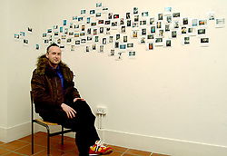 Fintan Friel,<br /> Westport Photographer pictured at the Custom House Studios 2003.<br /> Pic Conor McKeown