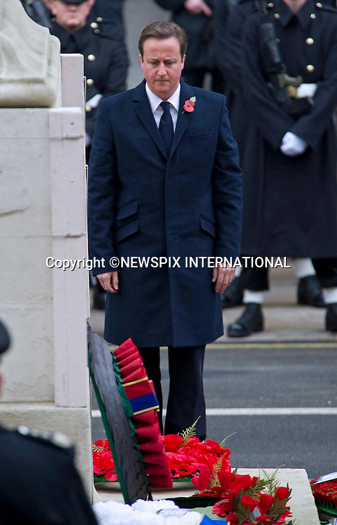 "Prime Minister, David Cameron.REMEMBRANCE SERVICE 2010.Prince Philip, Prince Charles, Prince Andrew Prince Edward and Princess Anne joined the Queen at the Cenotaph, London for the annual Service of Remembrance_14/11/2010..Mandatory Photo Credit: ©Dias/Newspix International..**ALL FEES PAYABLE TO: ""NEWSPIX INTERNATIONAL""**..PHOTO CREDIT MANDATORY!!: NEWSPIX INTERNATIONAL(Failure to credit will incur a surcharge of 100% of reproduction fees)..IMMEDIATE CONFIRMATION OF USAGE REQUIRED:.Newspix International, 31 Chinnery Hill, Bishop's Stortford, ENGLAND CM23 3PS.Tel:+441279 324672  ; Fax: +441279656877.Mobile:  0777568 1153.e-mail: info@newspixinternational.co.uk"