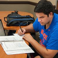 Students Studying, Micron Business Economics Building, David Maka, Accounting Tutoring, Photo by Ashley Alexander