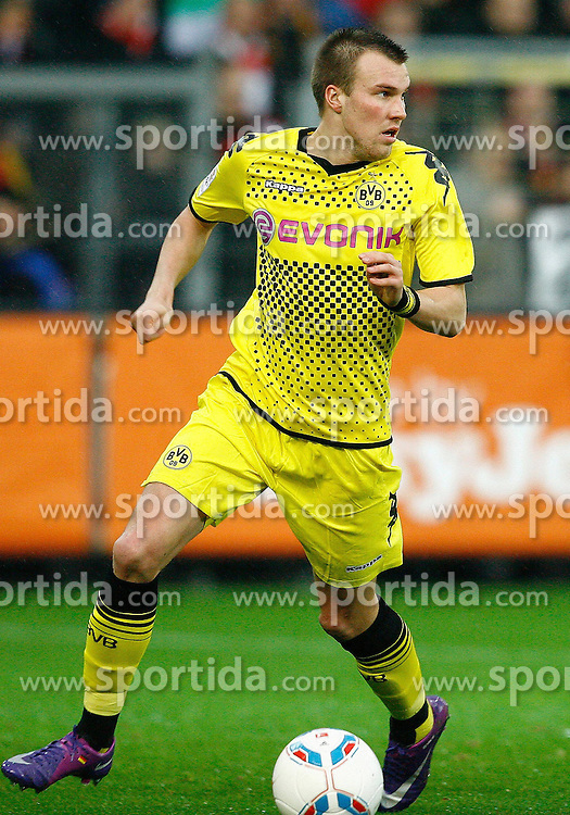 17.12.2011, Badenova Stadion, Freiburg, GER, 1.FBL, SC Freiburg vs BvB Borussia Dortmund, Kevin GROSSKREUTZ, Borussia Dortmund am Ball // during the match from GER, 1.FBL, SC Freiburg vs BvB Borussia Dortmund on 2011/12/17, Badenova Stadion, Freiburg, Germany.Foto © nph/ A.Huber..***** ATTENTION - OUT OF GER, CRO *****