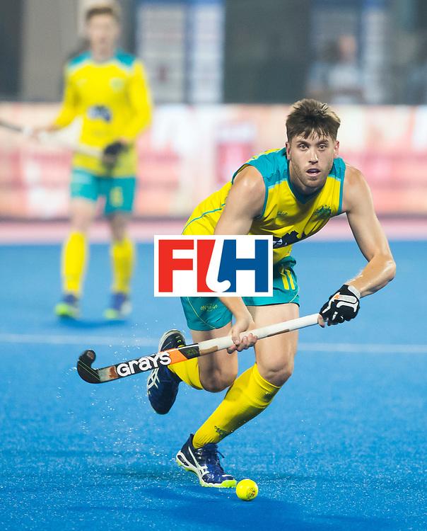 BHUBANESWAR - The Odisha Men's Hockey World League Final . Match ID 09 .  Australia v England  .Eddie Ockenden (Aus)   WORLDSPORTPICS COPYRIGHT  KOEN SUYK