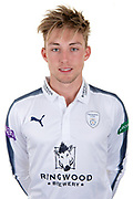 Asher Hart of Hampshire during the Hampshire County Cricket Club Headshots 2017 Press Day at the Ageas Bowl, Southampton, United Kingdom on 29 March 2017. Photo by David Vokes.