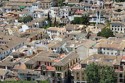 SPAIN: Andalucia..The Albaycin,the Moorish quarter in Granada