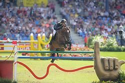 Rivetti, Cassio (UKR), Vivant<br /> Aachen - Europameisterschaften 2015<br /> Springen 1. Qualifikation Teamwertung<br /> © www.sportfotos-lafrentz.de/Stefan Lafrentz