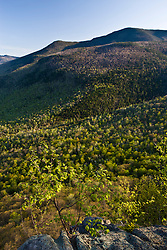 Spring in New Hampshire's White Mountains. From Frankenstein Cliffs.