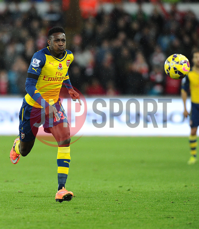 Arsenal's Danny Welbeck  - Photo mandatory by-line: Joe Meredith/JMP - Mobile: 07966 386802 - 09/11/2014 - SPORT - Football - Swanswa - Liberty Stadium - Swansea City v Arsenal - Barclays Premier League