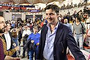 DESCRIZIONE : Campionato 2014/15 Virtus Acea Roma - Enel Brindisi<br /> GIOCATORE : Dejan Bodiroga<br /> CATEGORIA : Ritratto VIP Spettatori Pubblico<br /> SQUADRA : Virtus Acea Roma<br /> EVENTO : LegaBasket Serie A Beko 2014/2015<br /> GARA : Virtus Acea Roma - Enel Brindisi<br /> DATA : 19/04/2015<br /> SPORT : Pallacanestro <br /> AUTORE : Agenzia Ciamillo-Castoria/GiulioCiamillo