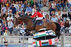 Aarnio-Wihuri Jenny, FIN, Holde Maid<br /> Children European Championships Jumping <br /> Samorin 2017© Hippo Foto - Dirk Caremans<br /> 12/08/2017