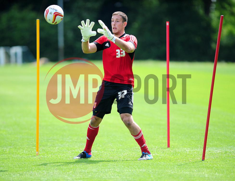 Bristol City's Dylan Castanheira - Photo mandatory by-line: Dougie Allward/JMP - Tel: Mobile: 07966 386802 28/06/2013 - SPORT - FOOTBALL - Bristol -  Bristol City - Pre Season Training - Npower League One